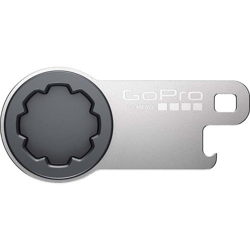 GoPro The Tool (Thumb Screw Wrench + Bottle Opener) Metal Key Ring by GoPro