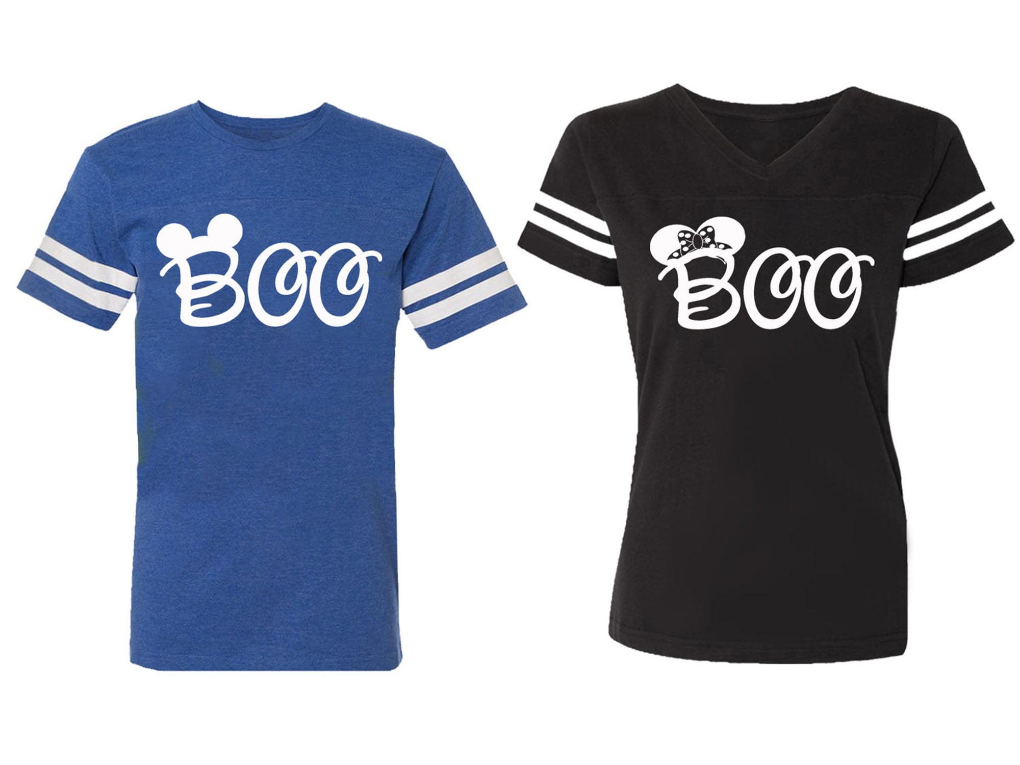 OXI - Halloween Boo Matching Cotton Jerseys (Royal / Black ...