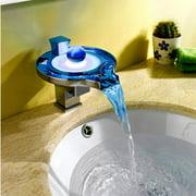 Kokols LS03B Single Hole LED Vessel Sink Bathroom Faucet