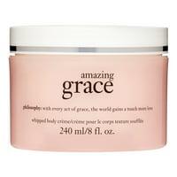 ($36 Value) Philosophy Amazing Grace Whipped Body Cream For Women, 8 Fl Oz