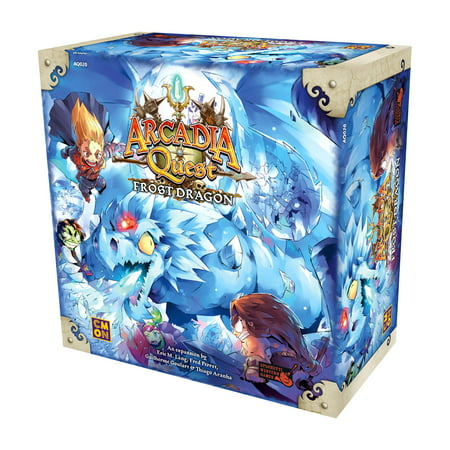 CMON Arcadia Quest: Frost Dragon Board Game - Frosted Games