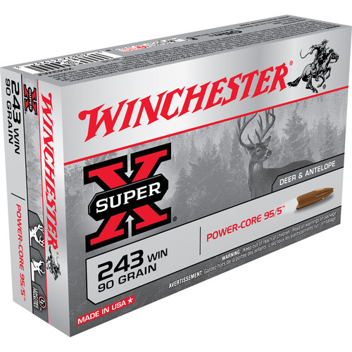 Winchester Super X Ammunition, 243 Win
