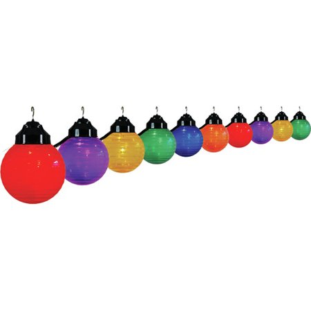 P/t Indoor Light - Polymer Products 20 ft. 10-Light Globe String Light