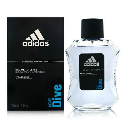 Adidas Ice Dive - 3.4 oz EDT Spray (Unboxed)