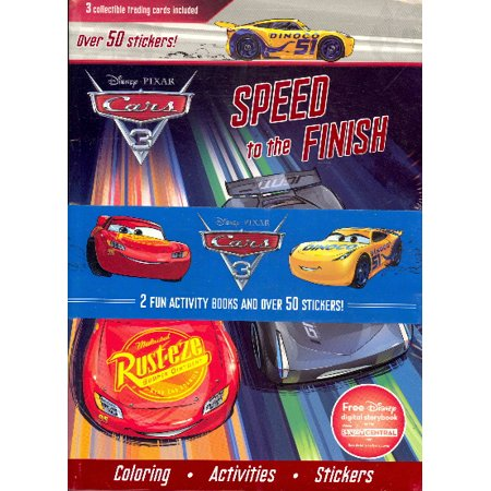 Disney/Pixar Cars: 2 Fun Activity Books and Over 50 (Car Sticker Activity)