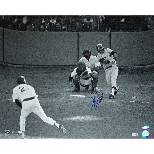 Steiner Sports Bucky Dent Autographed Vs. Mike Torrez Hitting 8'' x 10'' Photograph