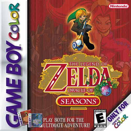 Legend of Zelda: Oracle of Seasons Game Boy Color