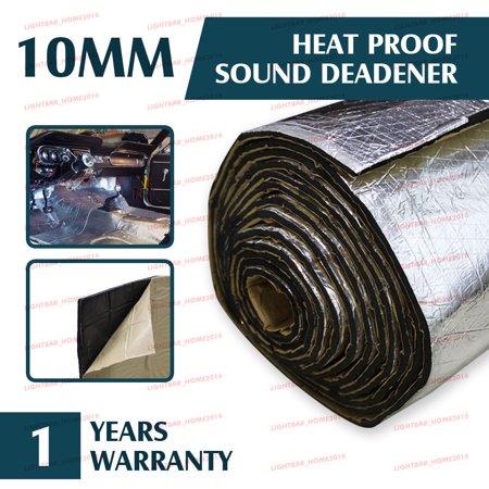 Automotive Sound Deadener Heat Insulation Deadening Material Proof Mat, 55'' x 39''