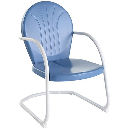 Crosley Griffith Metal Chair - Outdoor Lounge Chairs - Walmart.com