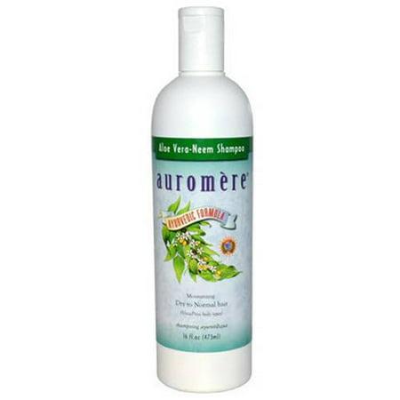 - Auromere Ayurvedic Aloe Vera Neem Shampoo, 16 FL OZ