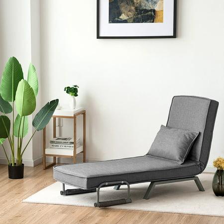 Costway Folding Sofa Bed Sleeper Convertible Armchair ...