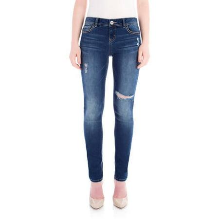 176800622d Jordache - Women s Low-Rise Skinny Jean - Walmart.com