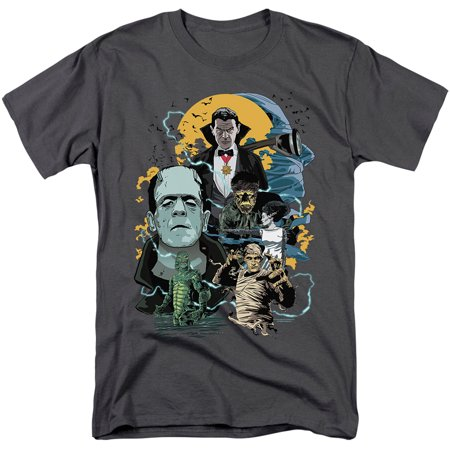 Retro Monster Collage T-Shirt Universal's Revered and Reviled