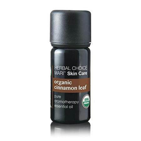 Herbal Choice Mari Organic Cinnamon Leaf Essential Oil; 0.3floz - Glass Organic Leaf