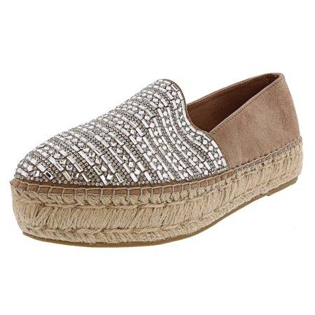 235a38bd936 Steve Madden Women's Proud Rhinestones Ankle-High Fabric Slip-On Shoes -  11M | Walmart Canada