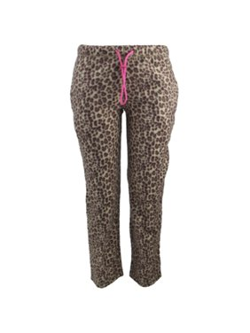 f26b4e5c51 Product Image Ladies  Leopard Print Design Fleece Pajama Pants
