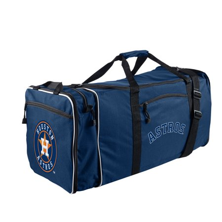 "- MLB Houston Astros ""Steal"" 12""H x 28""L x 11"" W Duffel Bag"