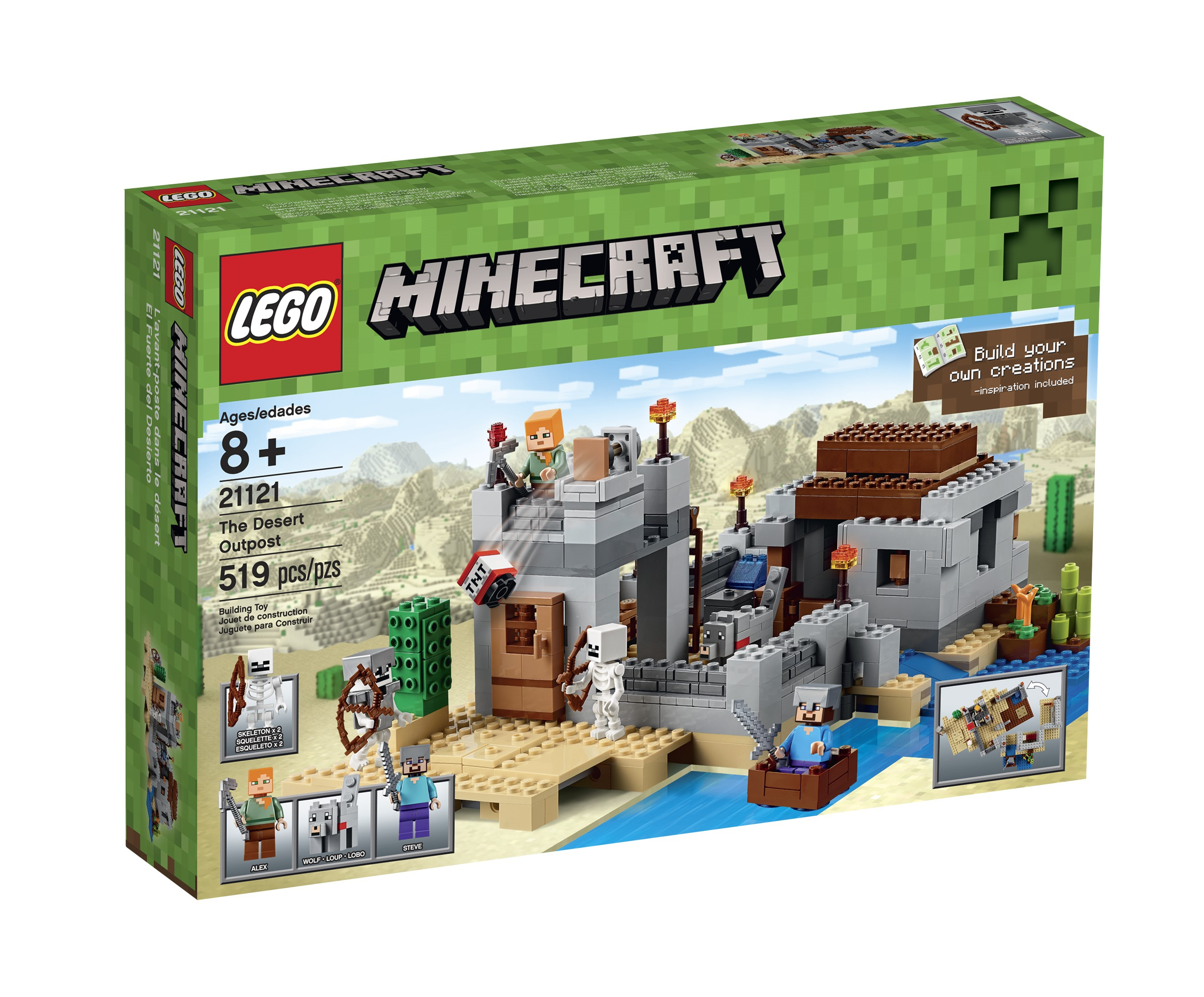Lego Minecraft The Desert Outpost, 21121 by Lego