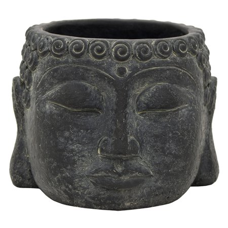Three Hands Buddha Face Flower Pot