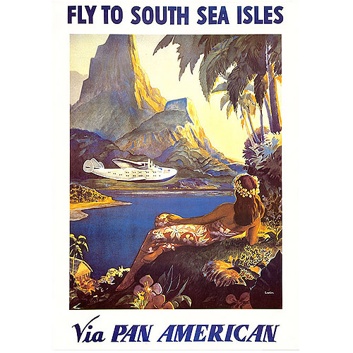 "Trademark Fine Art ""South Sea"" Canvas Art by Paul Lawler"