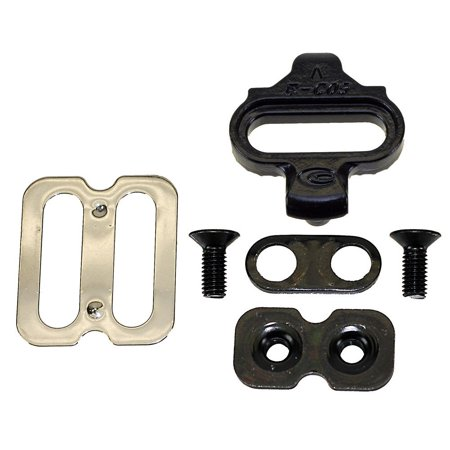 SPD Compatible Cleat SetUniversally suitable for clip less pedals By Exustar