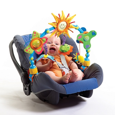Baby Stroller Car Seat Play erfly ,activated toys,Propeller ...