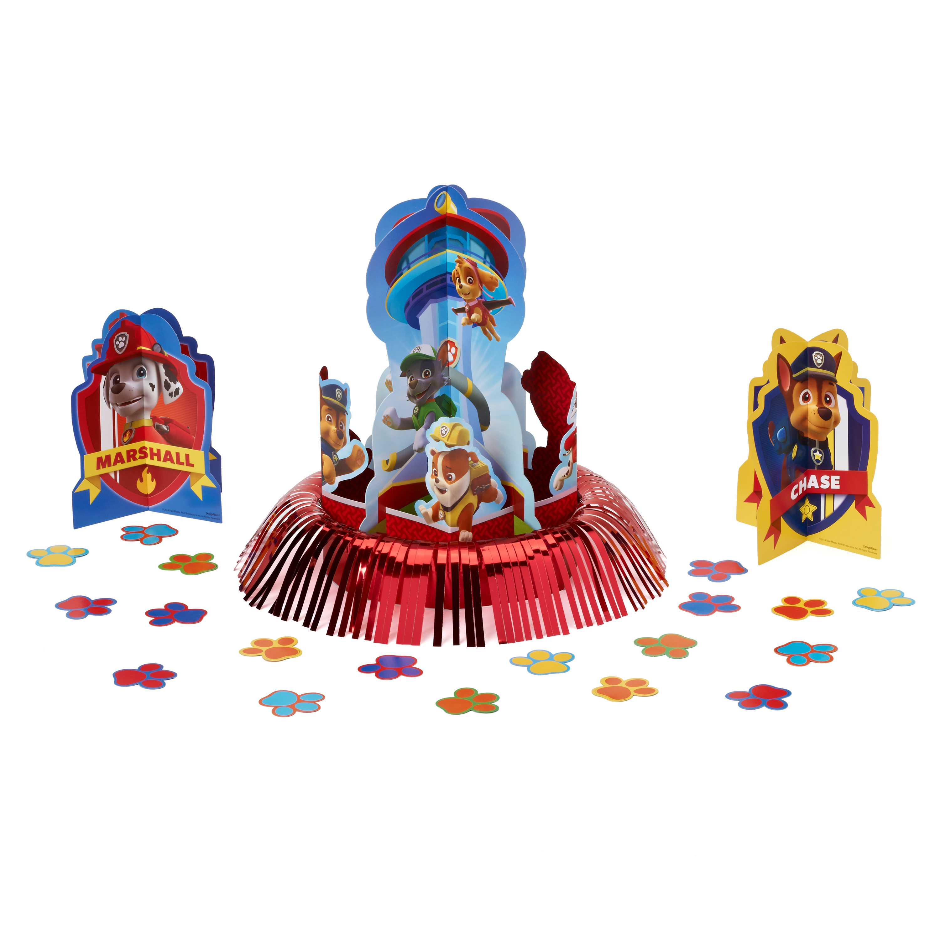 PAW Patrol Birthday Party Table Decoration Kit