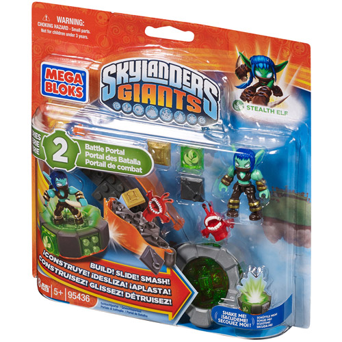 Skylanders Giants Stealth Elf Battle Portal Set Mega Bloks 95436