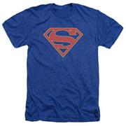 Supergirl Logo Mens Heather Shirt