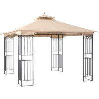 Sunjoy 110101009 Fence AIM Gazebo, 10' x 10'