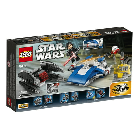 Best LEGO Star Wars TM A-Wing vs. TIE Silencer Microfighters75196 deal