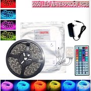 Led light strips tagital 164ft 5m waterproof flexible strip 300leds color changing rgb smd5050 led light strip mozeypictures Choice Image