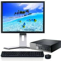 "Dell Optiplex 790 USFF Desktop Computer Intel Core i5 Processor 4GB RAM 320GB HD Wifi DVD with 19"" LCD Monitor Keyboard and Mouse - Refurbished"