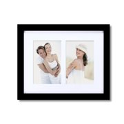 Adeco Trading 2 Opening Decorative Wall Hanging Picture Frame
