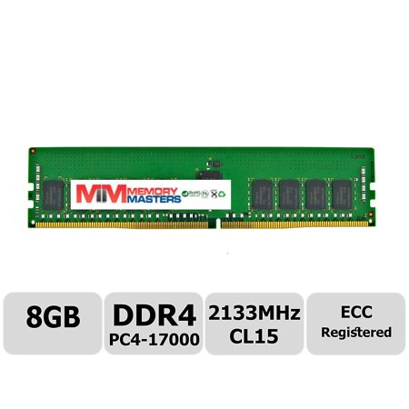 Registered Single Rank Memory Module (MemoryMasters Hynix 8GB DDR4 2133MHz PC4-17000 Registered ECC 1.2V CL15 1Rx4 Single Rank 288 Pin RDIMM Server Memory RAM Module Upgrade (8GB))