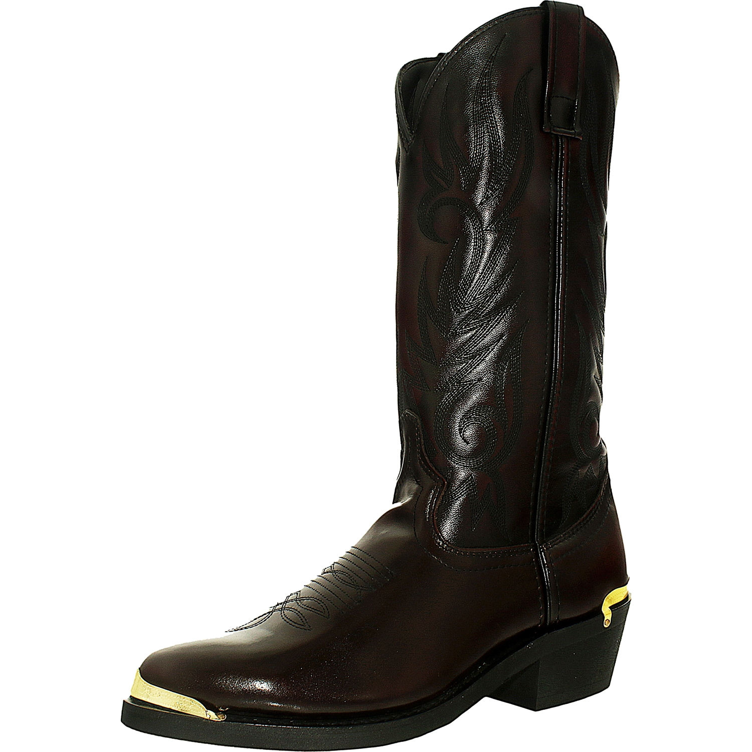 Laredo Men's Trucker M Leather Mid-Calf Leather Boot by Laredo