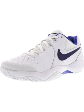 super popular c9fa1 f00ae Product Image Nike Women s Air Zoom Resistance White   Binary Blue-Mega  Blue Ankle-High Running
