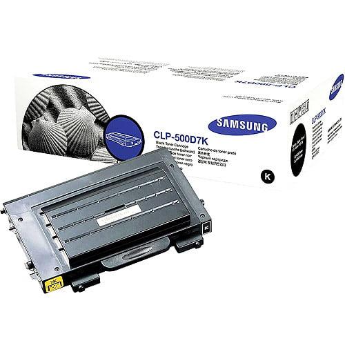 OEM Samsung CLP-500D7K Black Laser Toner Cartridge