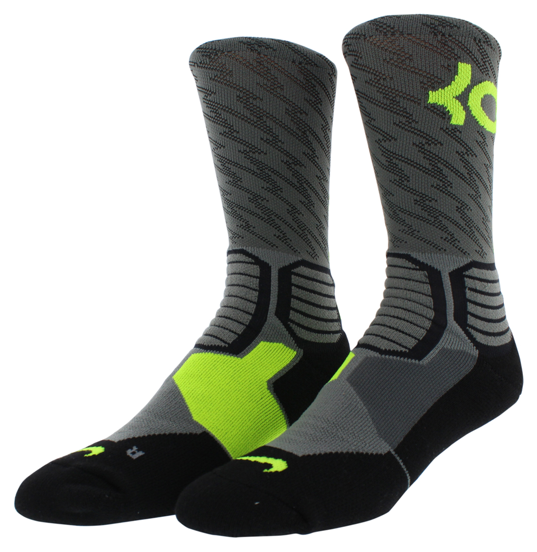 Nike Mens Kevin Durant Hyper Elite Basketball Crew Socks ...