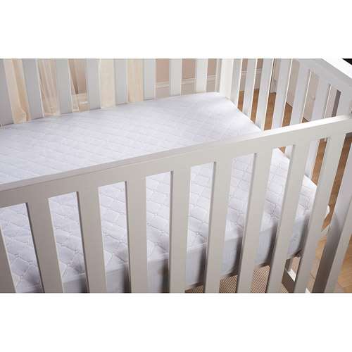 Summer Infant Mattress Pad, White Multi-Colored