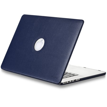 Kuzy - LEATHER Hard Case for Older MacBook Pro 15.4