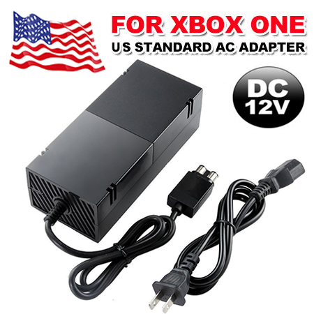 XBOX One Power Supply Cord Brick AC Power Adapter for Xbox One - seenda AC Power Adapter Replacement Charger brick Accessories Kit with Cable for Xbox One Console Cord