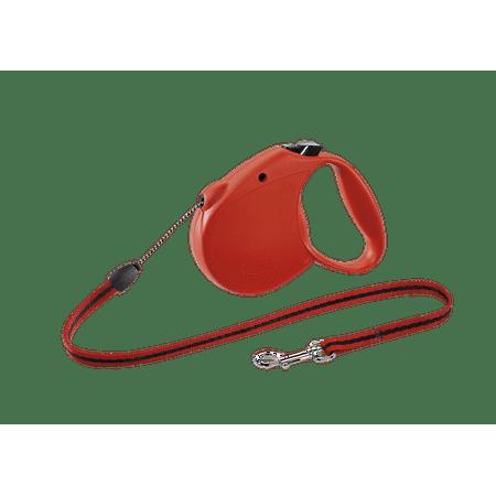 flexi Retractable Dog Leash (Cord), 16 ft, Small, Red](Halloween Dog Skeleton On Leash)
