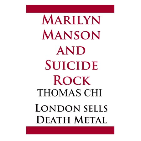Marilyn Manson and Suicide Rock - eBook - Marilyn Manson Halloween Mix