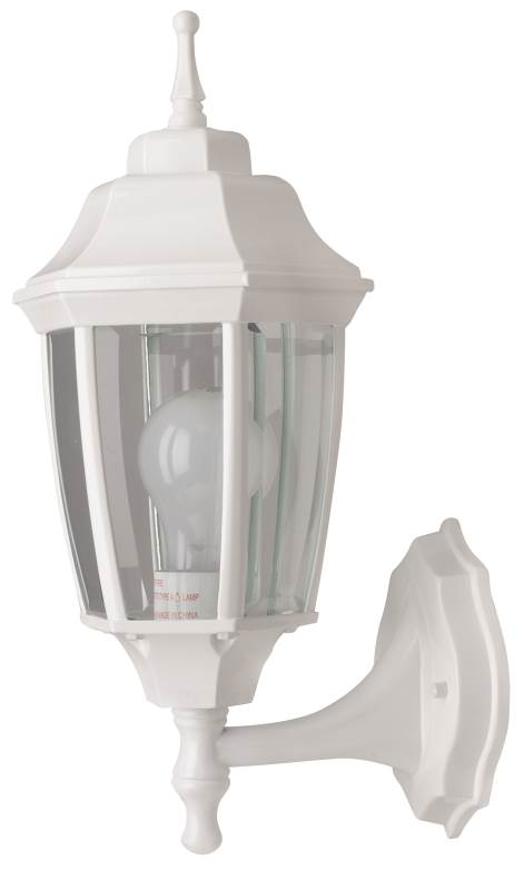 Boston Harbor BRT-BPP1611-WH3L Lantern Outdoor Porch Light Fixture, Medium, 100 W, 1 Lamp by BOSTON HARBOR