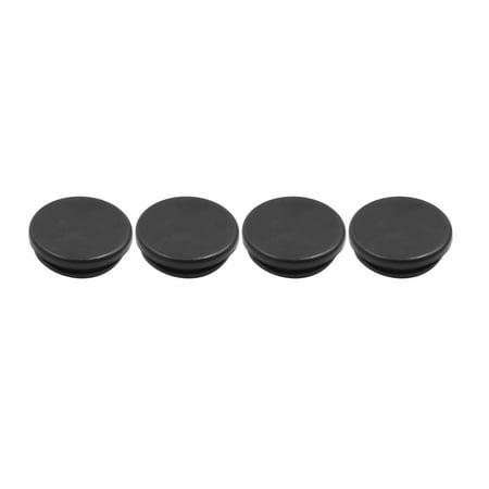 4pcs Black Car Rubber Grommet Plug Flush Mount Wire Gasket Interior 20mm x (Flush Mount Grommet)