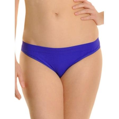 Angelina Seamless Tagless Neon Bikini Panties (6-12 Pack)