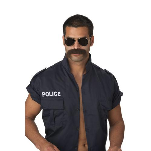 Adult The Man Brown Moustache for Halloween Costume