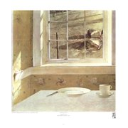 """ANDREW WYETH Groundhog Day 22.5"""" x 22"""" Poster Realism"""