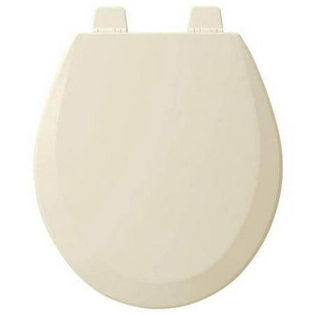 Bemis 500TTT Wood Round Toilet Seat Available in Various Colors